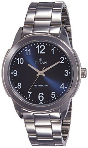 Titan Neo Analog Blue Dial Men's Watch-1585SM05