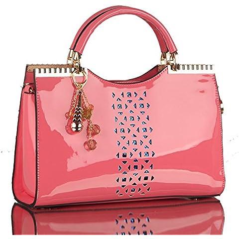 Stencil vernice borsetta Corea moda diagonale singola borsa a tracolla 32*20*8cm