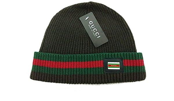 80d7c6b23 Gucci Discount adjustable hats caps Black Beanie hat  Amazon.co.uk  Sports    Outdoors