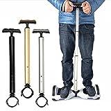 Equilibrio scooter manubrio per principianti scooter elettrico hoverboard Holder vari colori, Silver