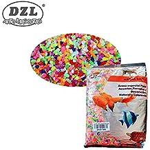 DI ZE LIN PET HOME S.L DZL Piedras pequeñas Colores para Acuario 1kg