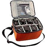 cuitan impermeable bolsa de la cámara SLR DSLR digital protección caso