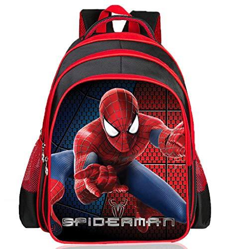 BACKPACK Kinderrucksack Spider-Man Schultaschen Grundschule Rucksack Cartoon Kind Junge 6-11 Jahre Alt Kindergarten Buch Tasche 4