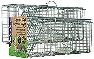 Defenders Djurfälla stor bur (mänsklig fälla, för kaniner och katter)
