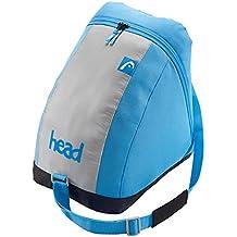 Head Freeride Skibag Esquí de mochila, 185cm, 65L, gris/Oange, color gris, azul, tamaño 39 x 41 x 29 cm, 25.8 L, volumen liters 25.8