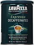 Lavazza Decaffeinated Espresso Ground Coffee, 8 Ounce (Pack of 2)