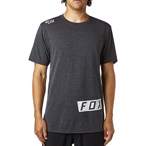 Fox T-Shirt Stocked Up Schwarz meliert Heather Black