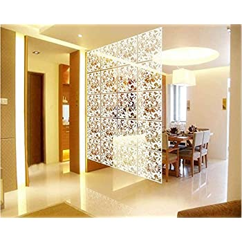 Buy 4pc Plastic Hanging Screen Partition Room Divider Wall ...