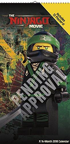 The Lego Ninjago Movie 2018 Poster Calendar