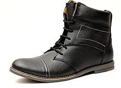 Guava Stylo Black Leather Boot