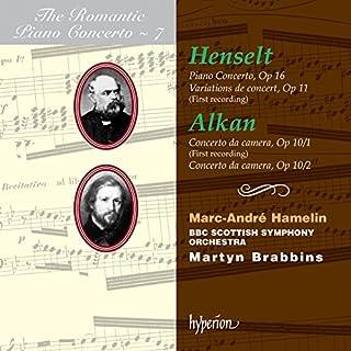 Henselt & Alkan: Piano Concertos