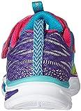 Skechers S Lights Litebeams, Baskets Basses Fille, Multicolore (Mlt), 31 EU