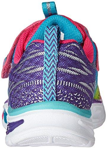 Skechers Litebeams, Baskets Basses Fille Multicolore (Mlt)