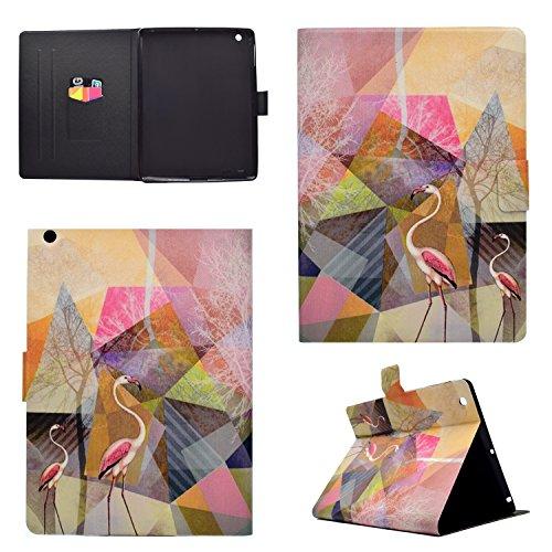 iPad 2 Hülle iPad 3 Hülle iPad 4 Hülle, iPad 2/3/4 (9,7 Zoll) Smart Hülle, Cozy Hut iPad 2/3/4 Abnehmbarer Lederhülle Case PU Leder Tasche Smart Cover Case Lederhülle hülle für iPad 2/3/4 (9,7 Zoll) Marmor Muster Design Schutzhülle Ledertasche mit Standfunktion Auto Sleep Wake up Funktion (Top Premium PU Leder, Flamingos,Ultra Thin) - Farbige Murmeln