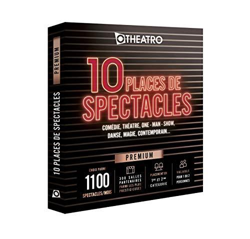 Otheatro Coffret 10 Places de Spectacles Premium – 300 salles Partenaires