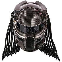 Casco Predator de Fibra de Carbono, el Casco de Guerrero de Hierro más Genial,