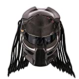 NMBE-Sports Motorradhelm Predator Carbon, Full Face Iron Warrior Herrenhelm,...