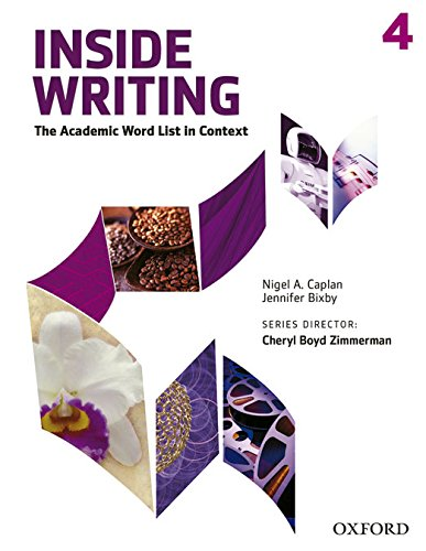 Inside Writing 4. Student's Book (Inside Reading Second Edition)