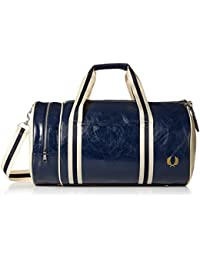 Fred Perry Men's Classic Barrel Bag Duffel
