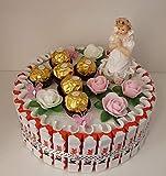 Geschenk zur Kommunion/Konfirmation, Kinderschokolade Torte für Mädchen