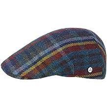 Lierys Sheatland Wool Coppola Cappello Piatto Berretto Invernale 8fbb3d539736