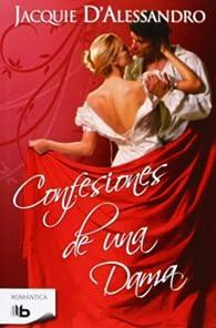 Confesiones de una dama par Jacquie D' Alessandro