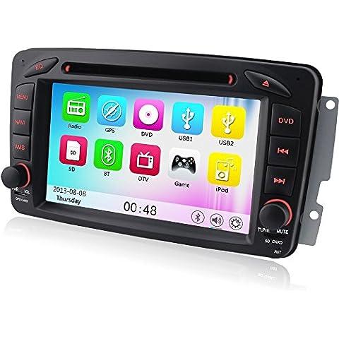 A Sure 7pollici SAT Navi DVD GPS Bluetooth VMCD RDS