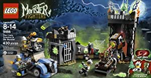 Lego Monster Fighters The Crazy Scientist & His Monster #9466