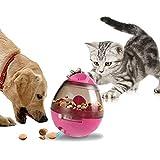 AOLVO dispensador de Tratamiento para Perros, Bola de Tratamiento interactiva para Perros y Gatos, la Mejor Alternativa a la alimentación del Cuenco Aumenta el IQ y la estimulación Mental