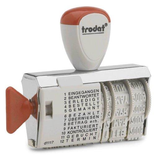 Trodat Classic Line 1117 Wortbandstempel mit Datum