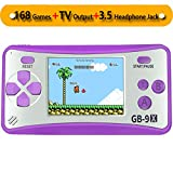 Best Handheld Game Systems - ZHISHAN Retro Handheld Game Console Classic Video Gaming Review