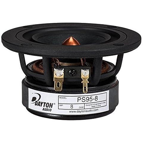 Dayton Audio PS95-8 3-1/2 Point Source Full Range Driver 8 Ohm