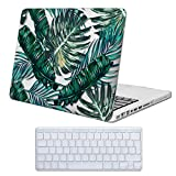 Cover MacBook Pro 13 Costodia , iCasso Palm Leaf Ultra Sottile Plastica Rigida Shell Snap On Duro Case per MacBook Old Pro 13 pollici (Modelli: A1278)