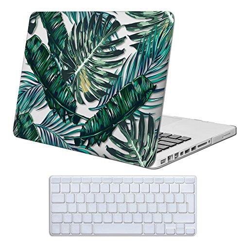 Cover MacBook Pro 13 Costodia , iCasso Palm Leaf Ultra Sottile Plastica Rigida Shell Snap On Duro Case per MacBook Old Pro 13 pollici (Modelli: A1278)