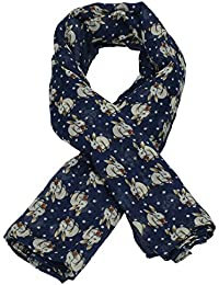 Lola Rabbit Print Animal Scarf -- SWANKYSWANS