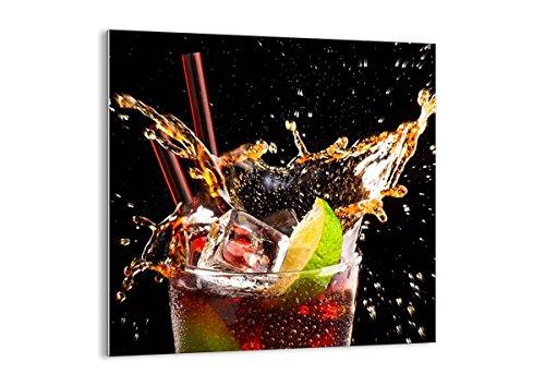 Bild auf Glas - Glasbilder - Einteilig - Breite: 50cm, Höhe: 50cm - Bildnummer 2223 - zum Aufhängen bereit - Bilder - Kunstdruck - GAC50x50-2223