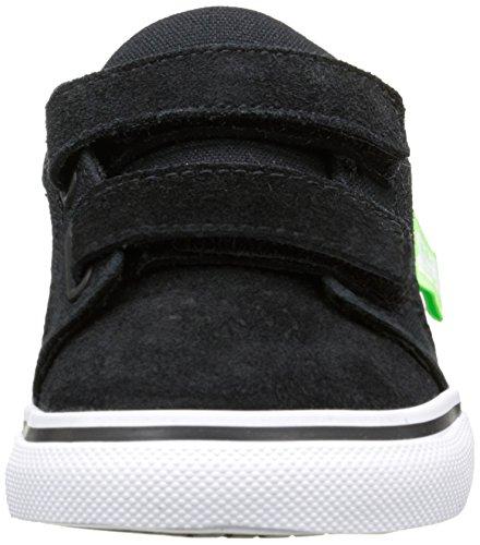 Baby Babyschuhe white black Schwarz V green Shoes Jungen Anvil Dc Noir Lauflernschuhe T qwTFTZ