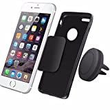 Cell Phone Holder Stand - Kingwo Car Magnetic Air Vent Mount Holder Stand for Mobile Cell Phone iPhone GPS UF