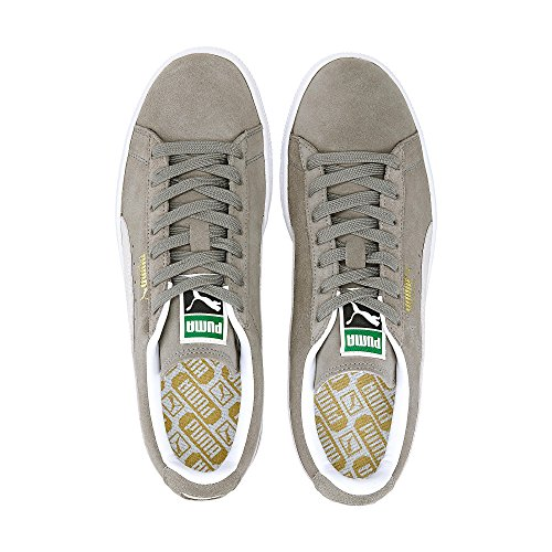 Puma Classic, Sneakers Basses Femme Gris (Grey/White 66)