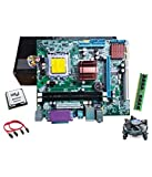 core2duo 2.66ghz + g41 intel chipset motherboard maxsonic brand + 4gb ddr3 ram