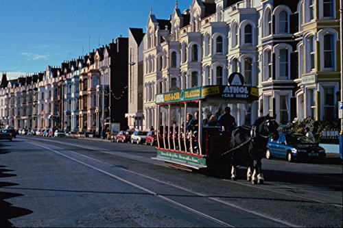 542013 Horse Tram Douglas Promenade Isle Of Man UK A4 Photo Poster Print 10x8