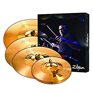 zildjian k1250 k custom hybrid cymbal box set gold musical instruments. Black Bedroom Furniture Sets. Home Design Ideas