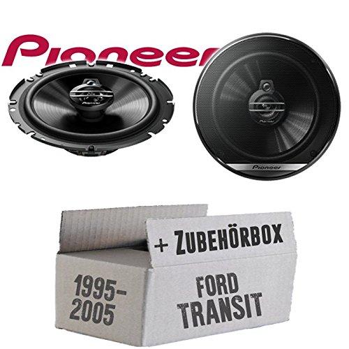 Lautsprecher Boxen Pioneer TS-G1730F - 16cm 3-Wege Koax Paar PKW 300WATT Koaxiallautsprecher Auto Einbausatz - Einbauset für Ford Transit Front Heck - JUST SOUND best choice for caraudio