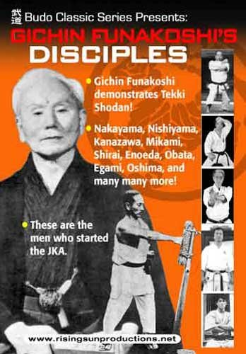 Gichin Funakoshi's Disciples