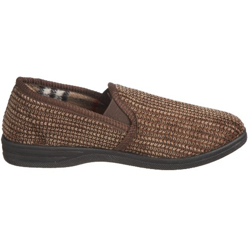Lotus Bevis 7114, Chaussons homme Marron-V.5