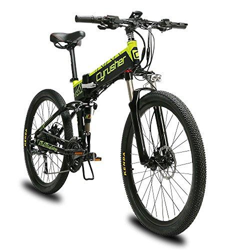 Extrbici Mountainbike XF770 500W 48V 27-Gang-Speichenrad Faltbare Aluminiumlegierung Rahmen Dual Hydraulische Scheibenbremsen