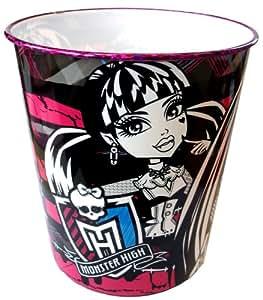 Monster High 24x 30cm Poubelle Plastique