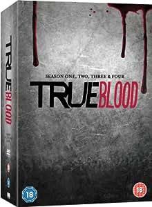 True Blood - Season 1-4 Complete (HBO) [DVD] [2012]