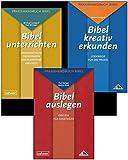Kombi-Paket: Praxishandbuch Bibel Bibel unterrichten, Bibel kreativ erkunden und Bibel auslegen zusammen -