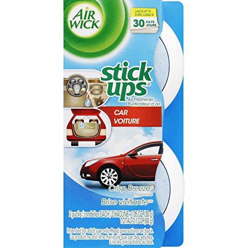 Air Wick Stick Ups Auto-Lufterfrischer Crisp Breeze, 2 Karat